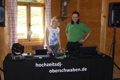 Duo Musikexpress Hochzeitsband Allgäu und Hochzeitsdj fürs Allgäu und Umgebung